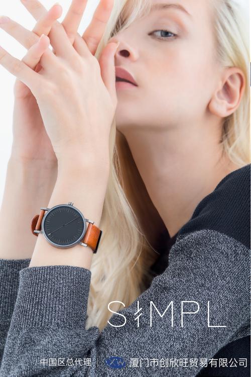 欧美潮人的最爱,你的新时尚设计师龙都国际娱乐SIMPL手表全新上市