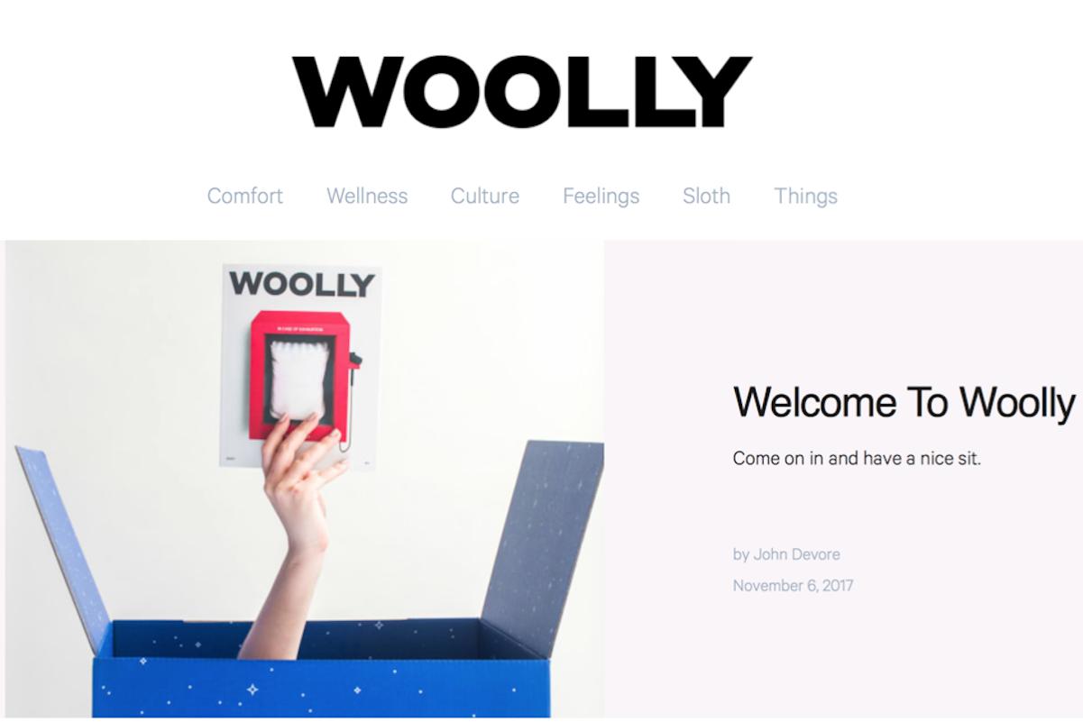 不只是一家床垫公司!互联网床垫品牌 Casper 推出纸质生活方式杂志《Wolly》