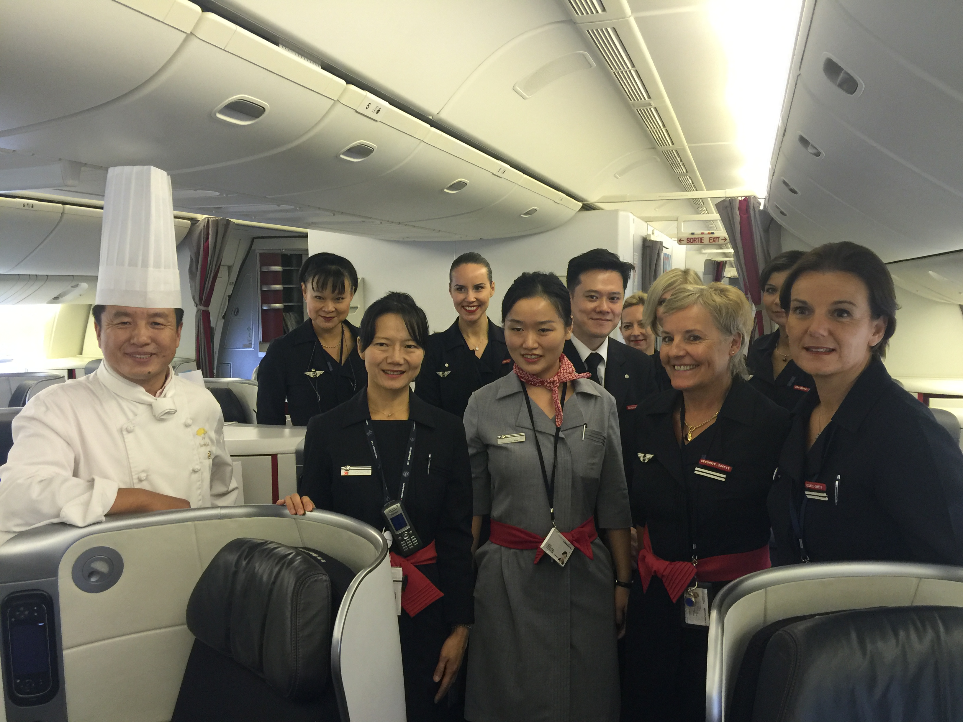 航空餐万里挑一高空上的舌尖美味