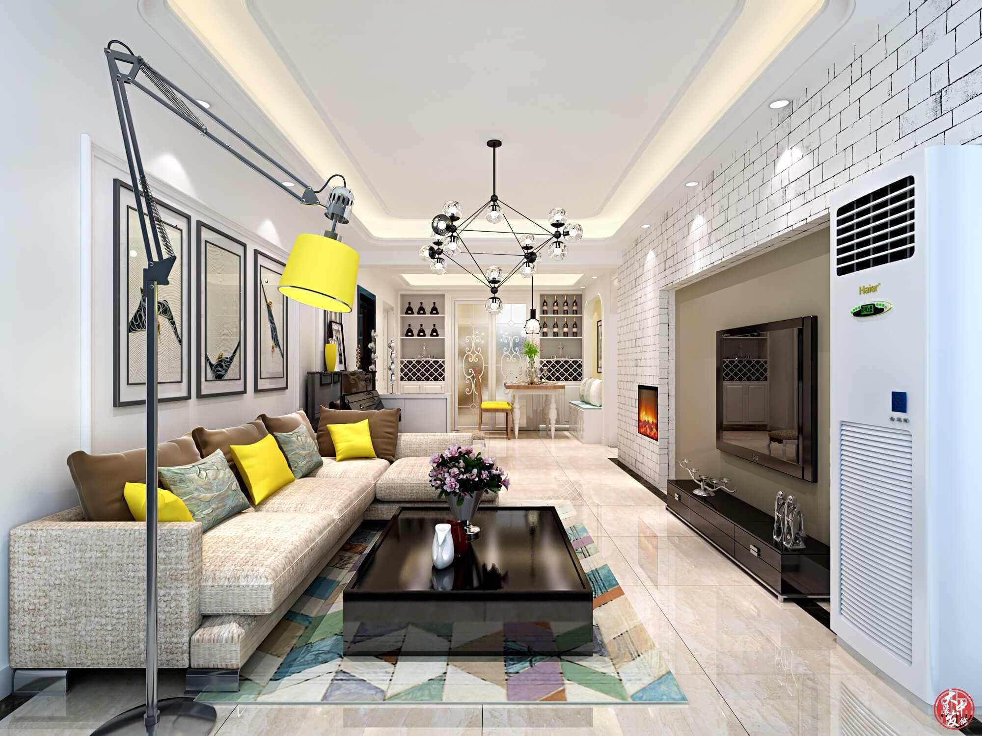现代简约装修风格-室内格局装饰知识要点!