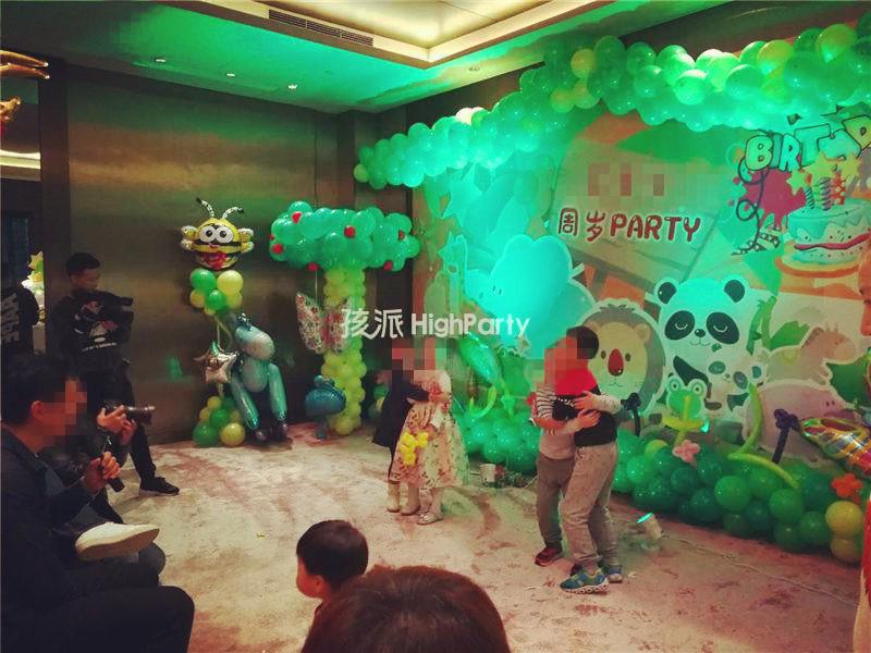 【周口】森林动物王国主题,热热闹闹庆祝宝贝周岁宴