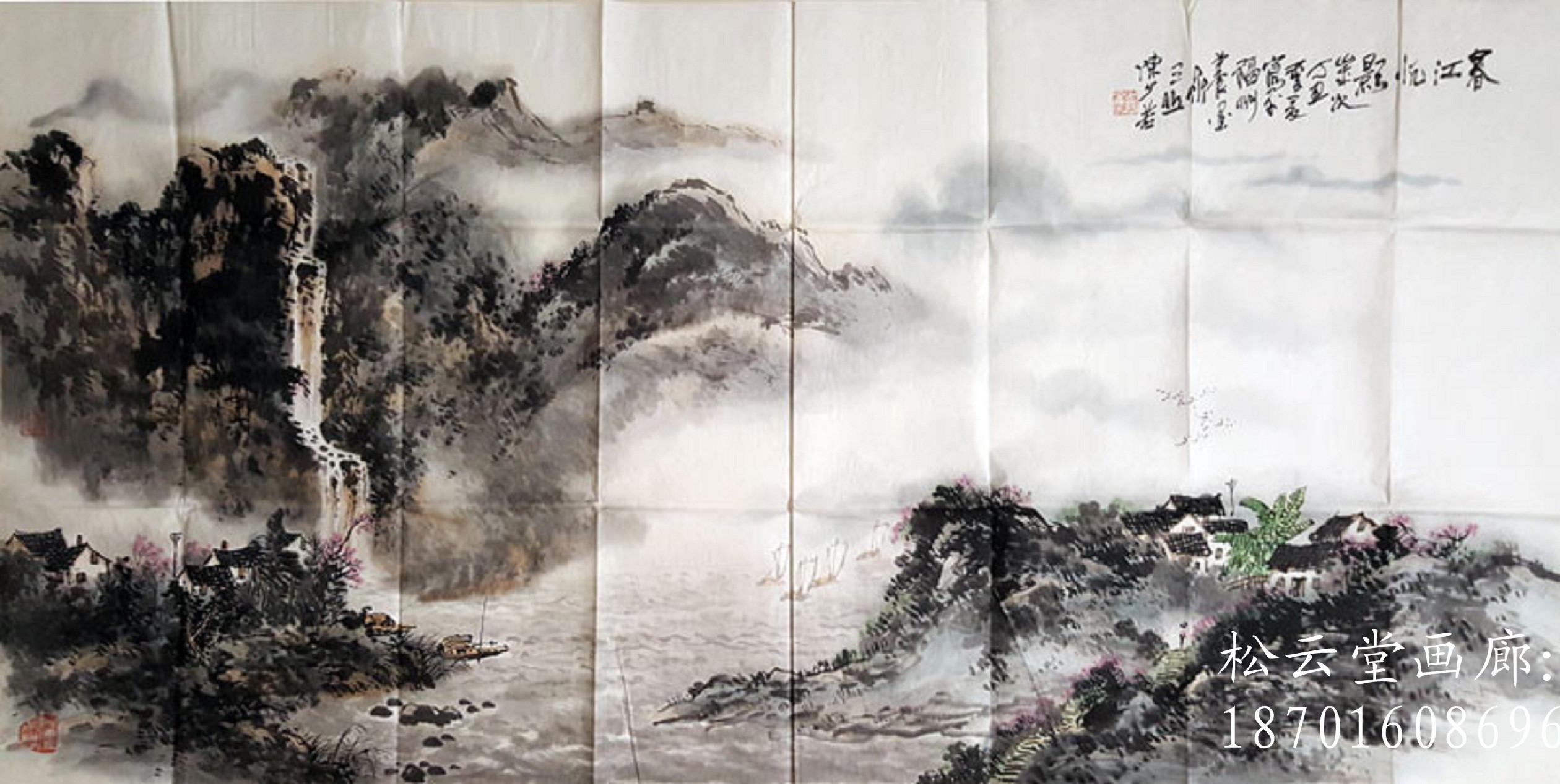 擅长国画山水,花鸟,笔法写意兼工,主功山水,花鸟创作.