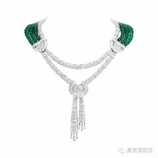 祖母绿情结:梵克雅宝 Emeraude en Majesté 高级珠宝