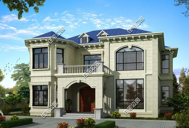 10套带堂屋自建房户型,1最实用8最美,农村别墅就要这样接地气!