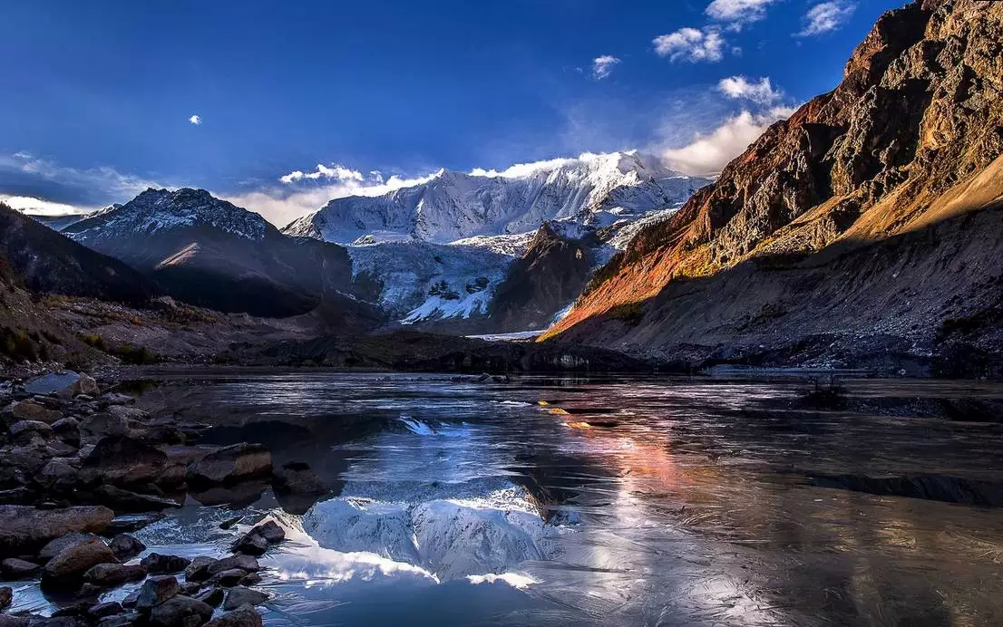 西藏山南市风景照片