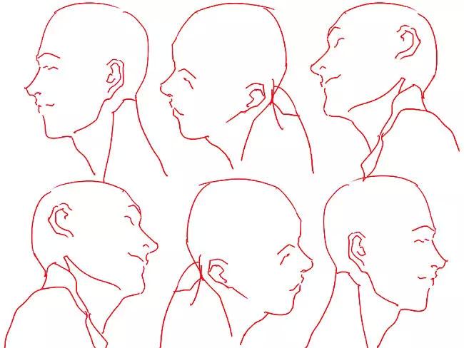 【全套】二次元动漫人物线稿绘画教程