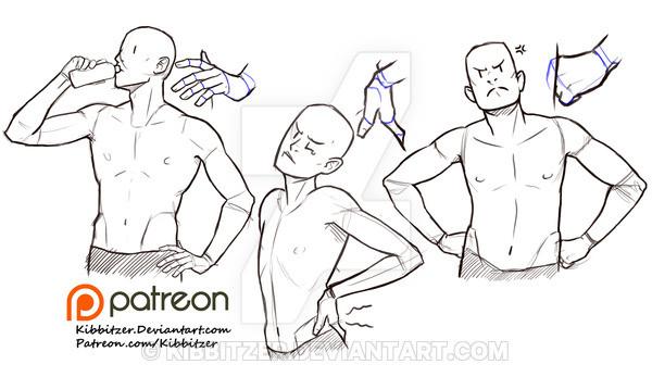 人体怎么画?需要这样练!