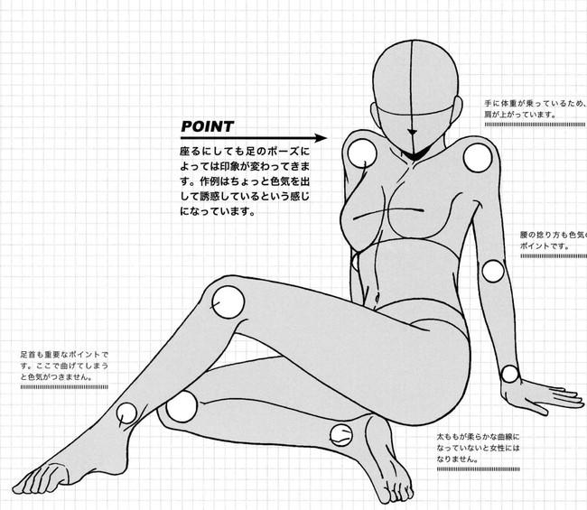女生人体动态绘画参考,很不错哦!