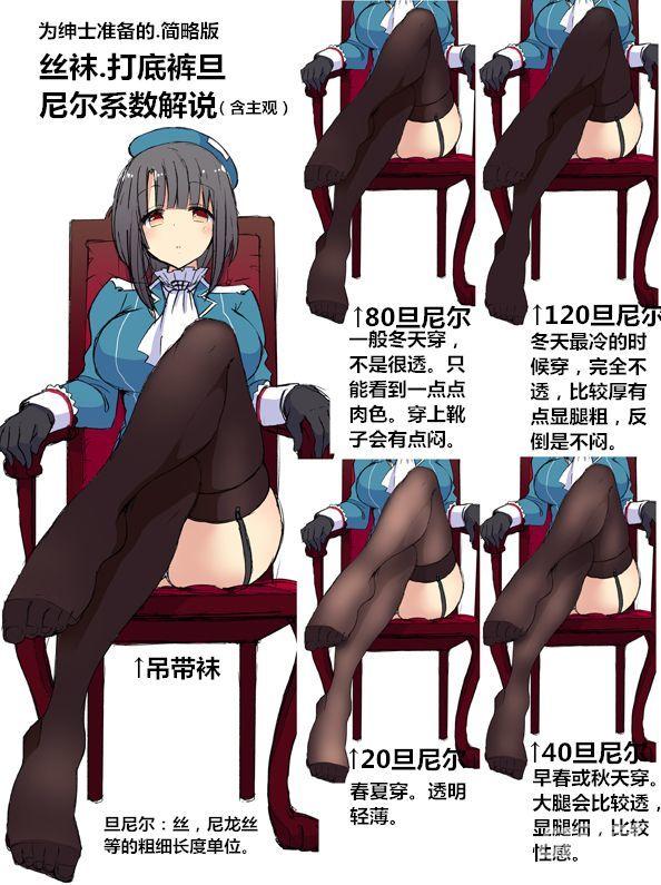 【推荐】动漫少女丝袜画法—免费学画画专区