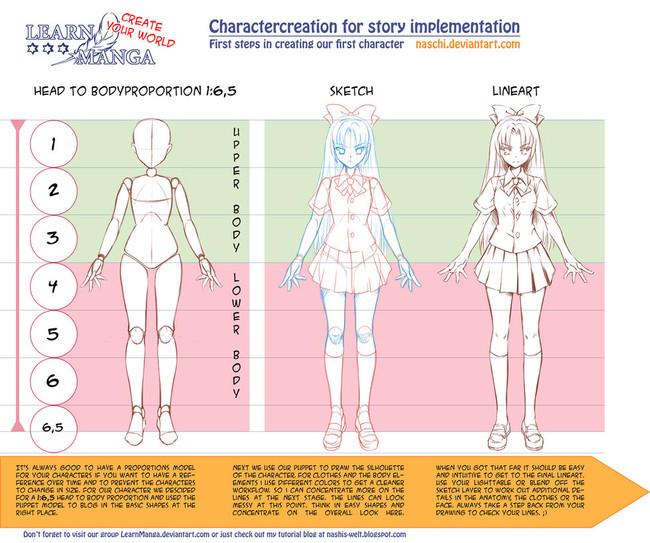 【推荐】动漫人体比例、结构、体块绘画参考素材—轻微课资源专区