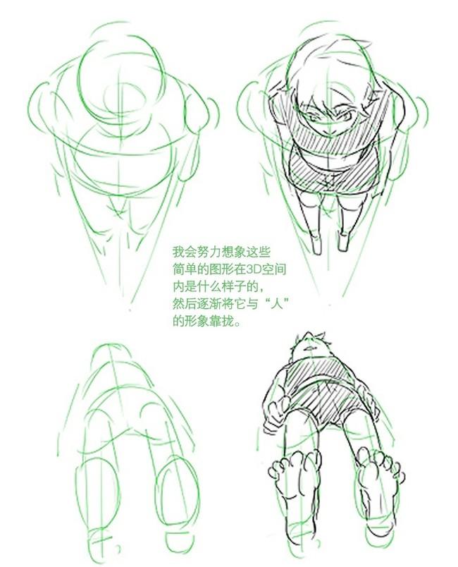【推荐】人体结构透视初学者教程—轻微课动漫绘画专区