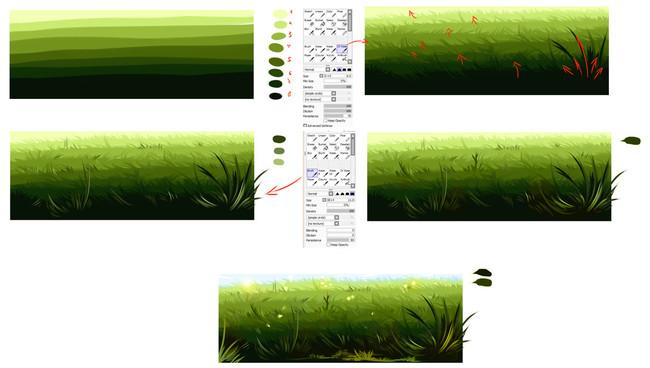【推荐】零基础学画画小教程—轻微课插画素材专区