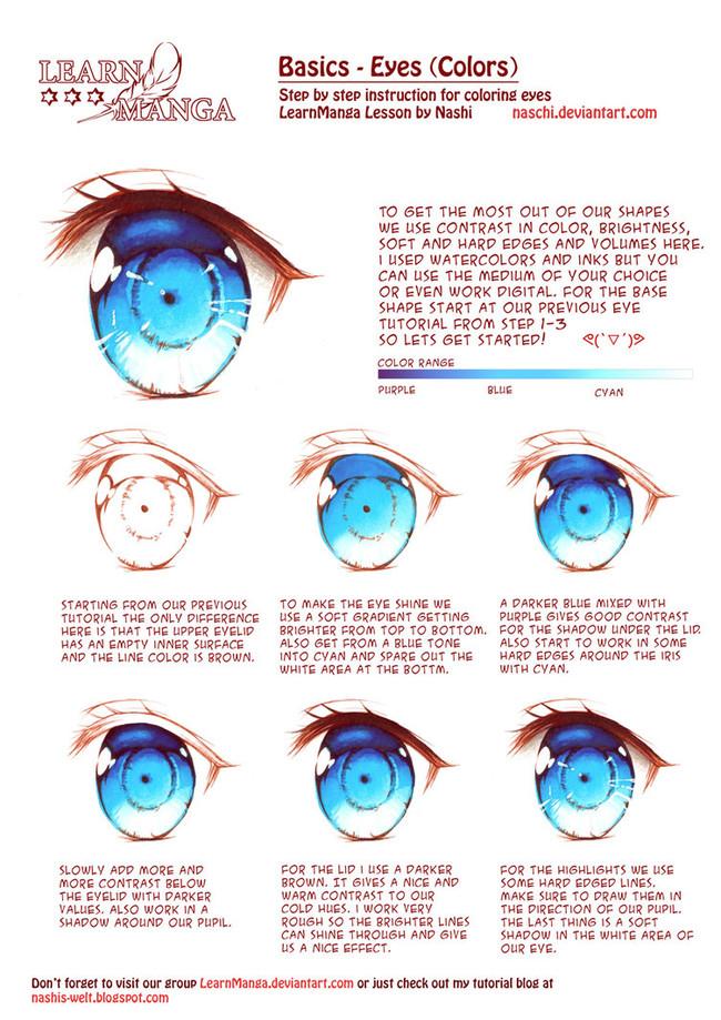 【推荐】动漫绘画新手学习教程之五官发型画法—轻微课绘画资源区