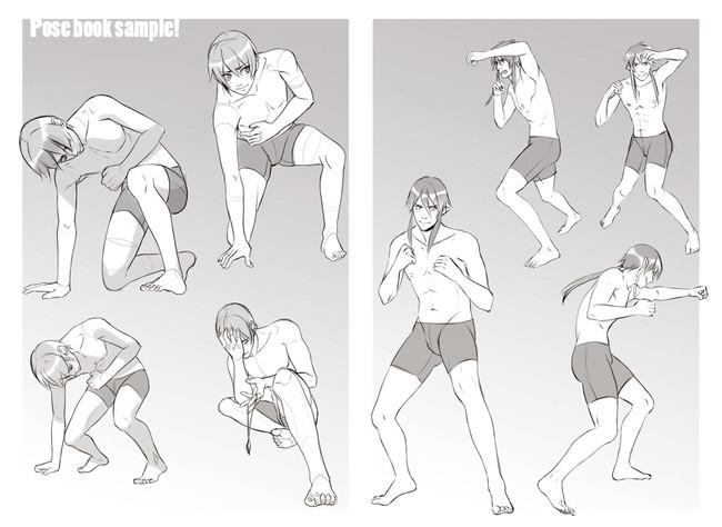 【推荐】动漫插画新手怎么学画人体结构—轻微课绘画教程专区