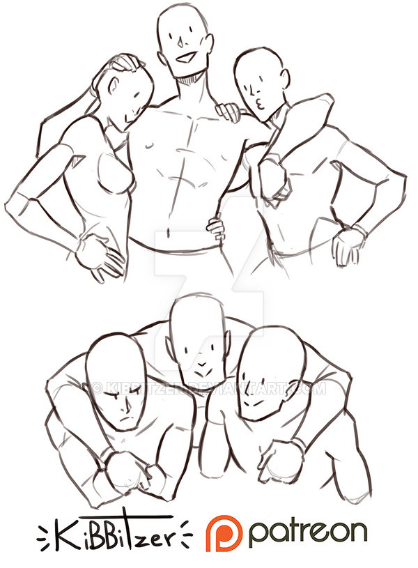 人体结构算是大家的通病,需要人体动态素材的来这里哦!