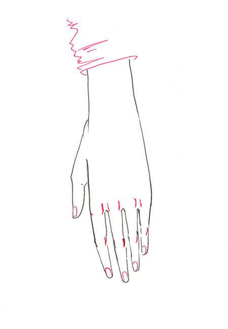 【教程】原来手还能这样画还有这种画法!简直是手残党的福利了!