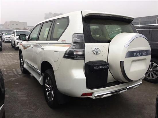 18款丰田霸道2700天津港最新报价现车售全国