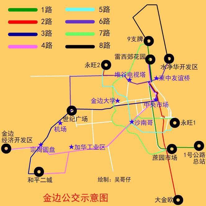 金边都市发展与交通建设情况简介