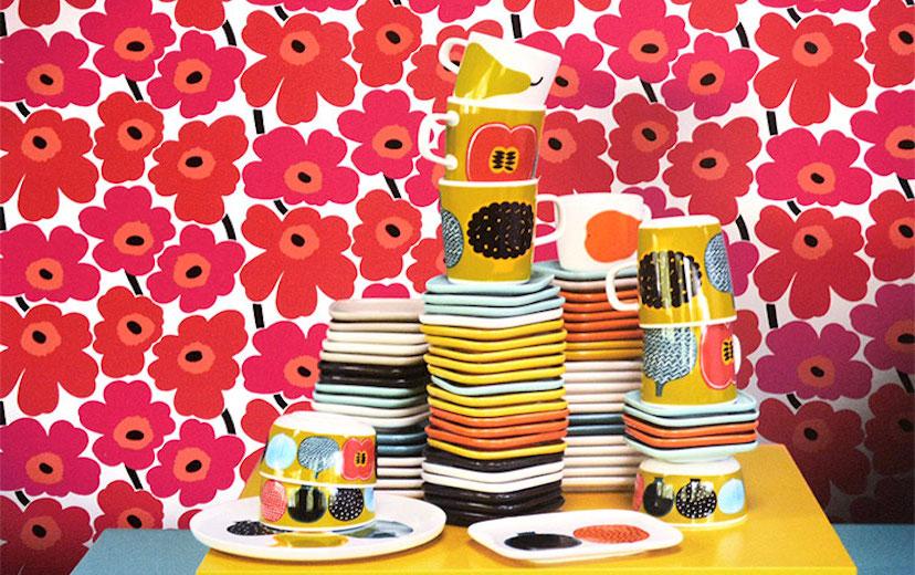 优衣库公布最新合作对象 这次是以大印花出名的芬兰品牌Marimekko