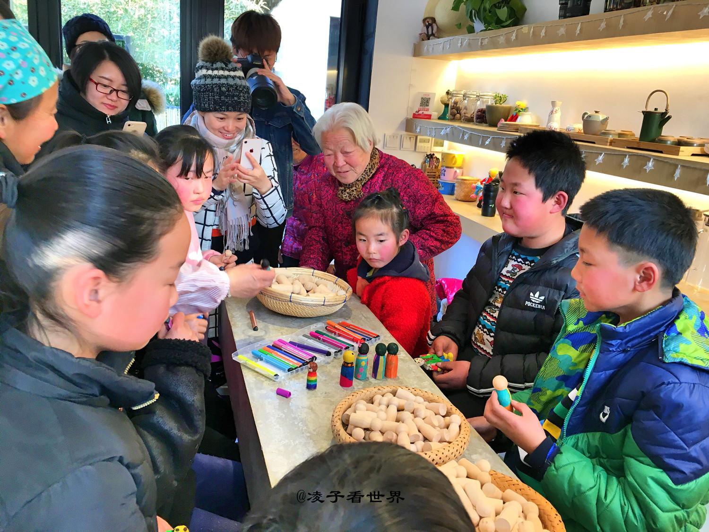 寒假带孩子到村里寻找年的味道