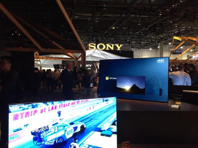 索尼产品在CES 2018