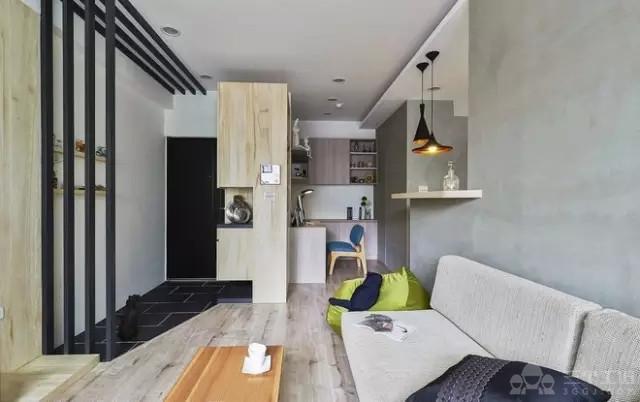 60平米旧房改造 简约也是一种文化