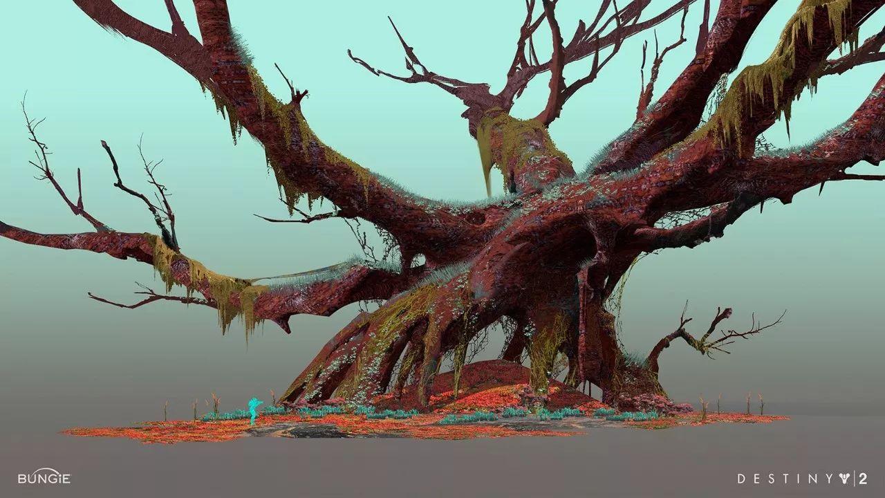 画师的构图、色彩、光影看着都很舒服,作品看似简单,但充满磅礴大气风范!