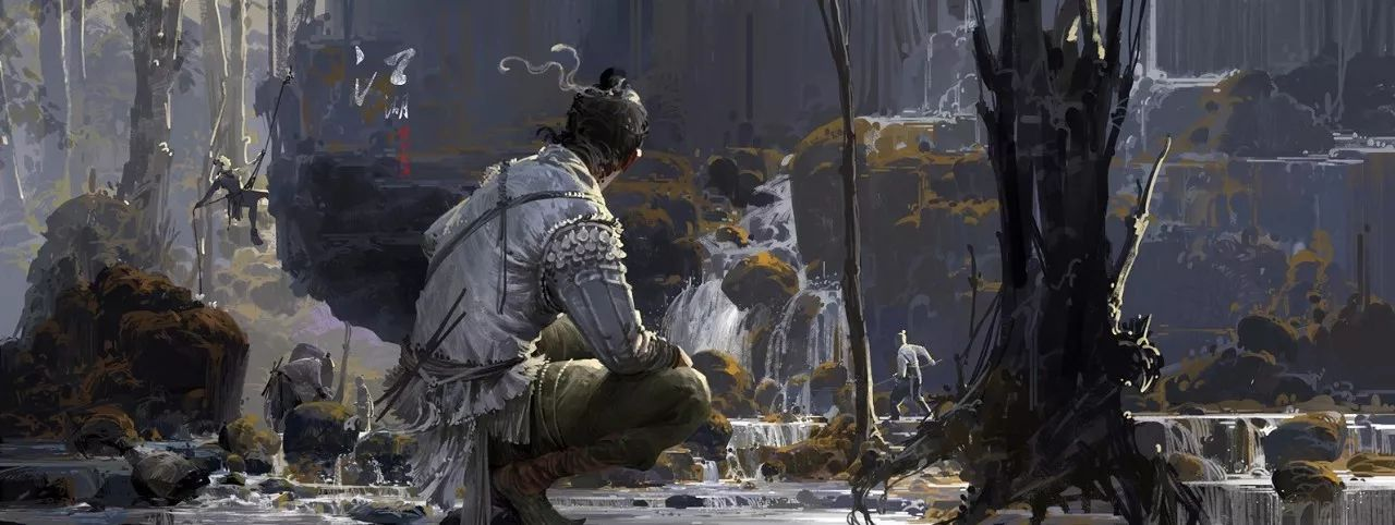 每个男人年少时都有一个武侠梦!武侠在画师的笔下会是什么样子呢?
