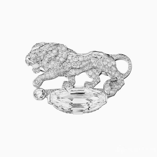以狮子为灵感 香奈儿推出全新臻品珠宝系列