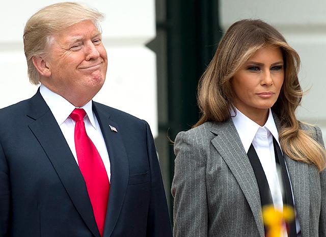 自从特朗普被爆出背叛丑闻后梅拉尼娅拒绝陪同他出访