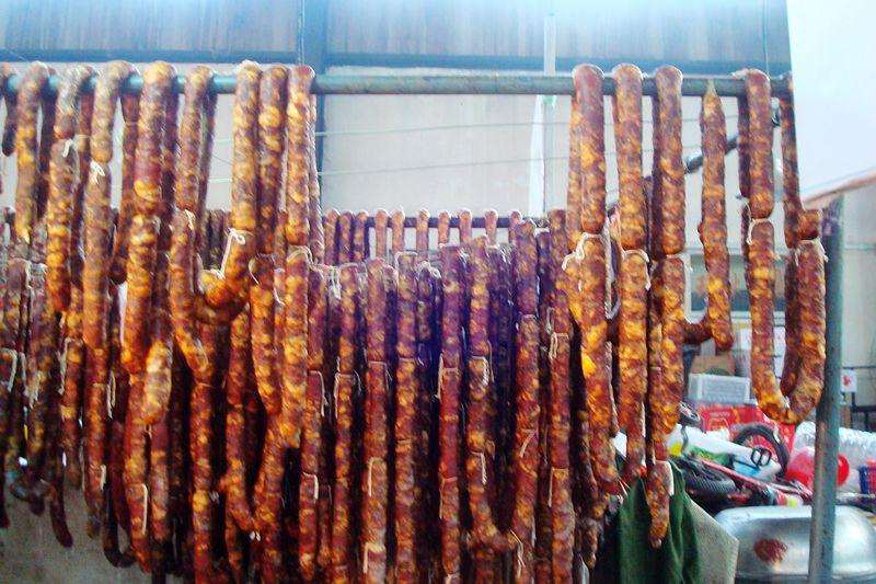 #新春悠享家#年货必备的腊肠,太便宜了,一公斤不到30元