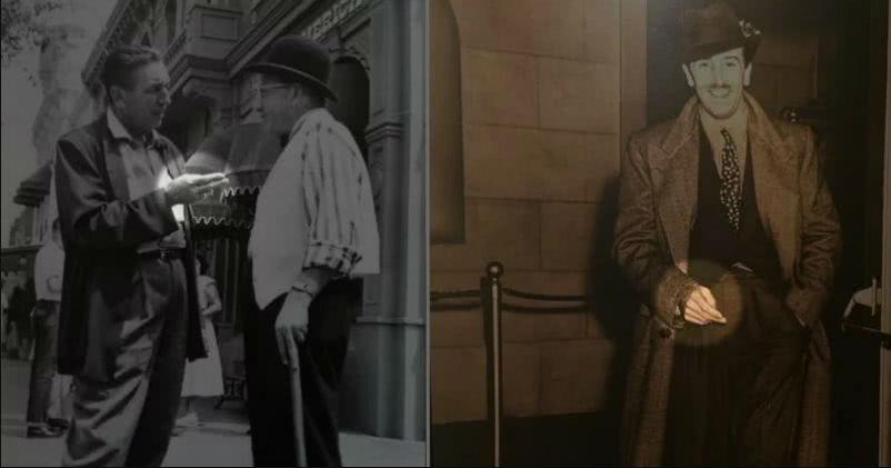 为什么所有的照片中沃尔特·迪斯尼总是伸着两个手指?