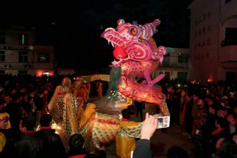 """春节到神河,一起舞""""神龙"""""""
