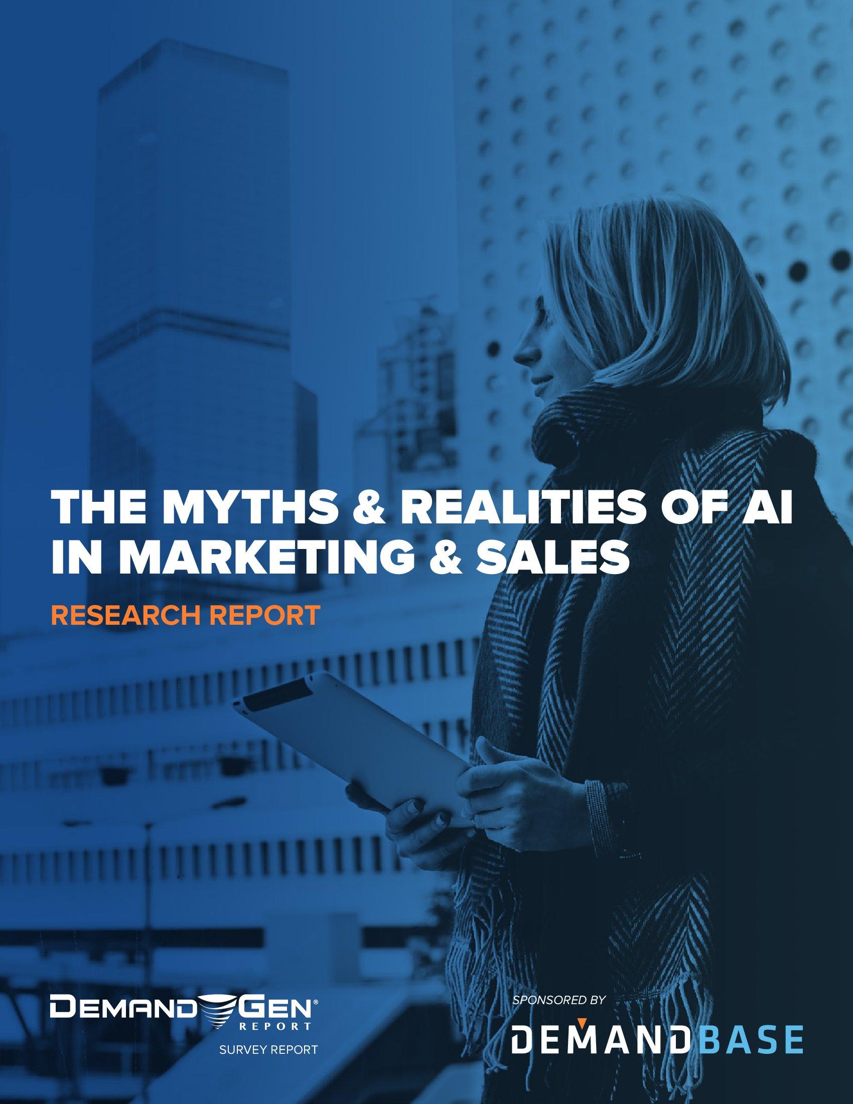Demandbase:《人工智能在营销和销售行业的神话和现实》(PPT)