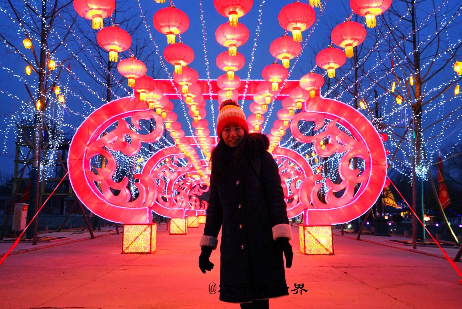春节期间逛庙会,闹花灯,看民俗表演杨家将府邸最吸引人