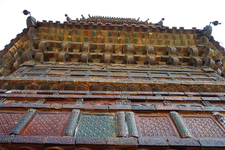 这座塔已900多年,历经了37次地震,18次大风,15次水患