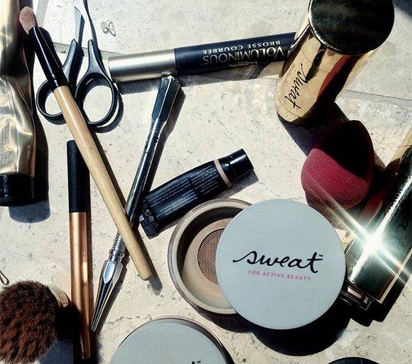 去健身房流汗弄花妆的烦恼 美妆品牌们各有妙招地解决了