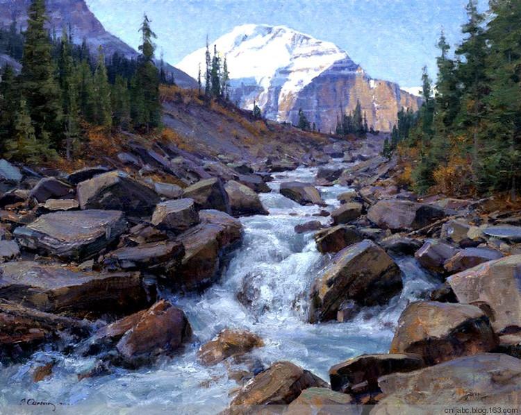 美国绘画:舒心迷人的风景