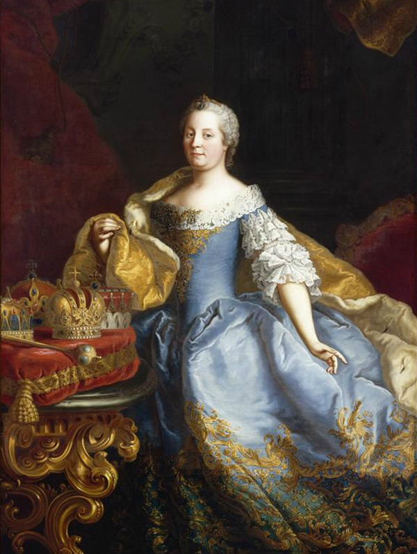 世界名画中的典雅女人
