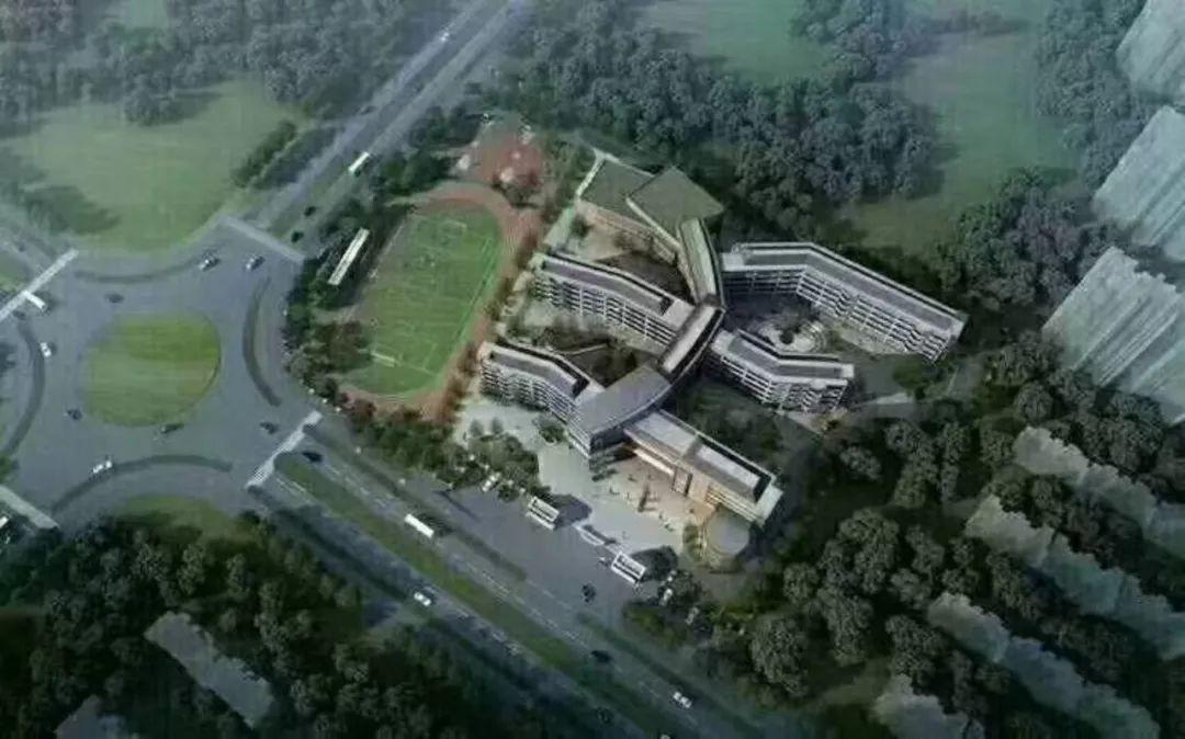 宜春这个区域的业主有福了 官园学校概况及全景