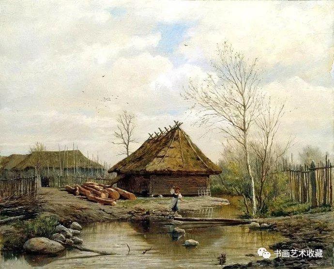俄罗斯风景油画其风格大多以写实为主,所以受到到了众多的普通民众的