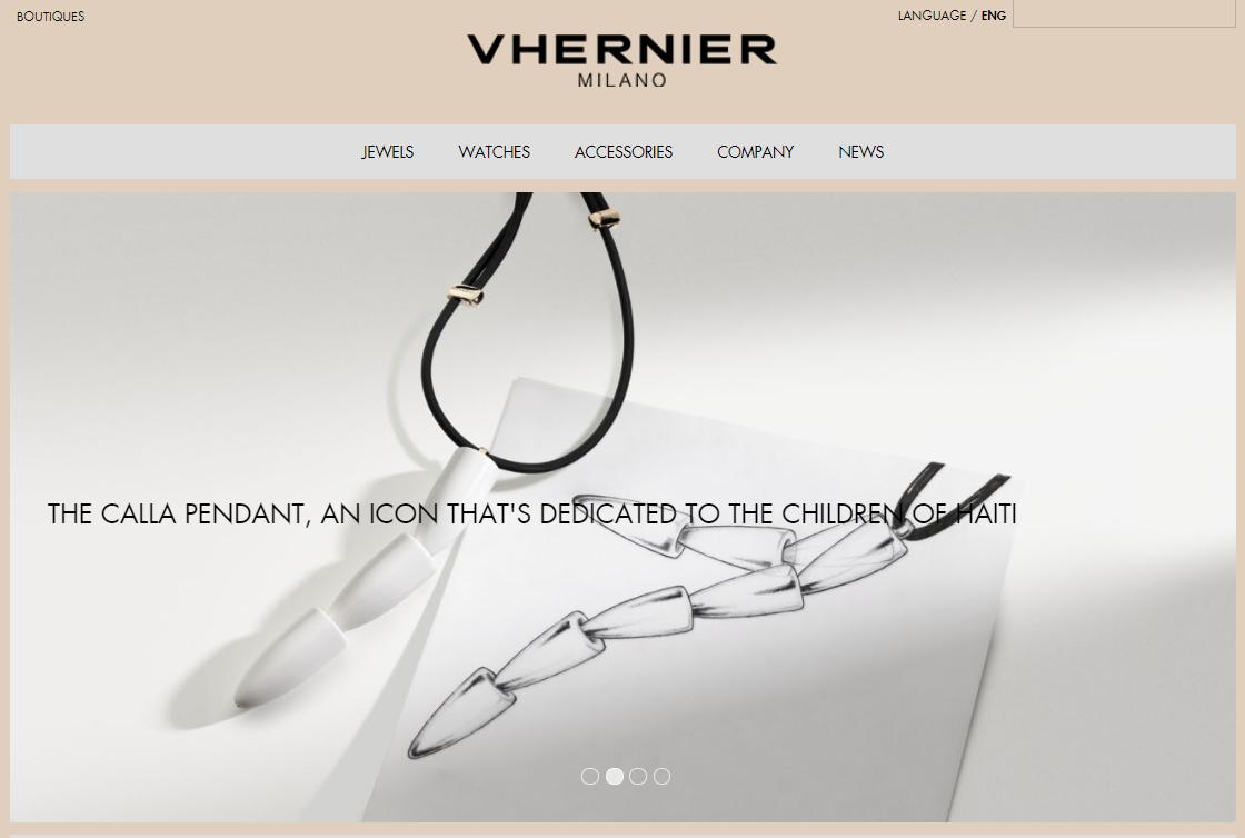 意大利珠宝首饰品牌 Vhernier: 2017年销售额增长 35%至3800万欧元,致力于将意大利制造的手工工艺推向全球