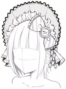 """如何掌握""""洛丽塔""""少女的设计重点?—轻微课动漫绘画专区"""