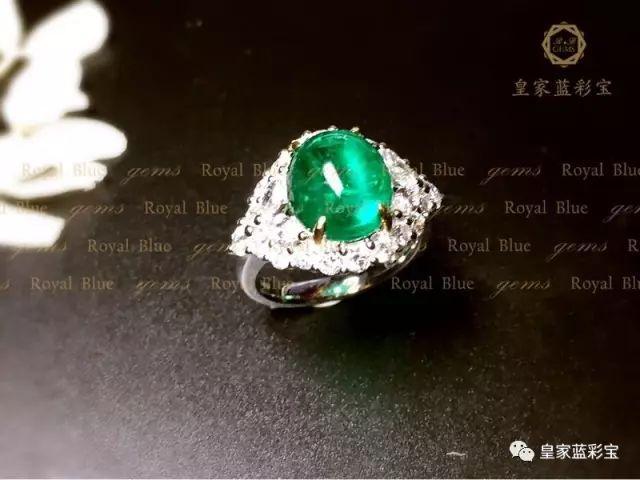 【皇家蓝彩宝・高级定制】宛若盛夏的绿荫,透出斑驳的阳光