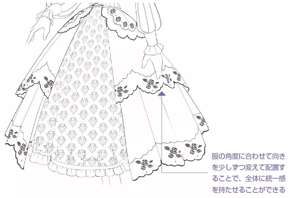 【推荐】哥特风格动漫人物绘画教程—轻微课漫画插画学习区