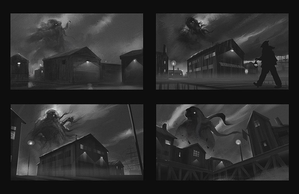 【推荐】游戏原画绘制步骤教程—轻微课CG绘画在线学习