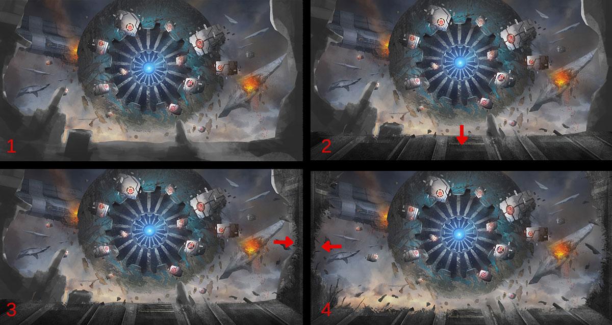 【推荐】游戏角色原画设计教程之透视的运用—轻微课CG资源专区