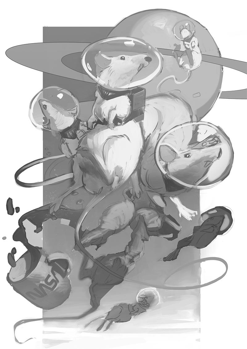 【推荐】游戏CG绘画基础教程步骤—轻微课免费学原画教程区