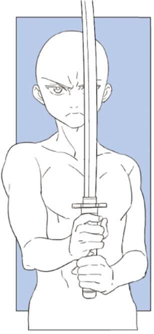 【推荐】日式漫画人物绘制教程之握刀姿势—轻微课插画视频教程专区
