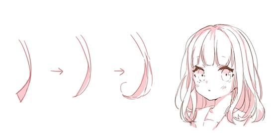 【推荐】女生各种发型的画法—轻微课免费绘画教程专区